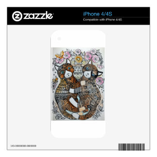 jardin du Luxemburgo Skins Para iPhone 4S