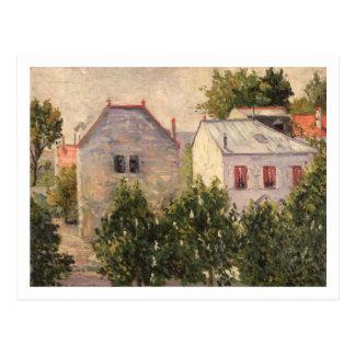 Jardín en Asnieres, 1883 (aceite en lona) Postales