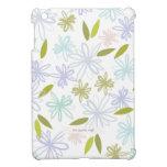 Jardín en colores pastel floral iPad mini cárcasas