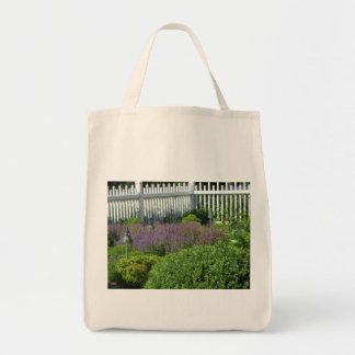 Jardín en el bolso de Long Island Bolsa Tela Para La Compra