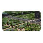 Jardín en el castillo francés de Villandry, Indre-