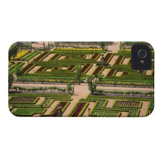 Jardín en el castillo francés de Villandry, iPhone 4 Case-Mate Carcasa