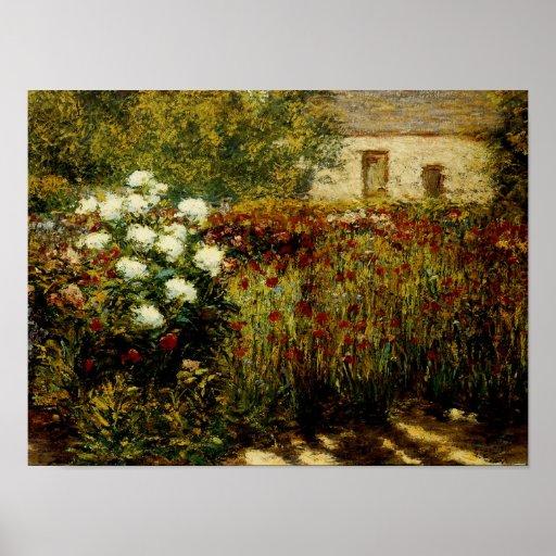 Jardín en Giverny Impresiones