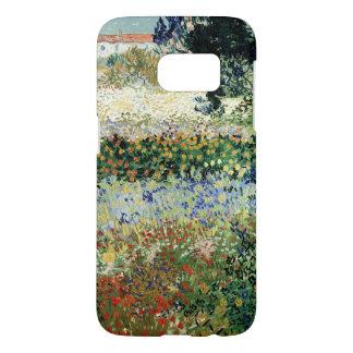 Jardín en la floración, Arles, 1888 Funda Samsung Galaxy S7