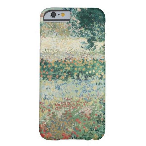 Jardín en la floración, Arles, julio de 1888 Funda De iPhone 6 Barely There