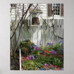 Jardín en la primavera 3 impresiones
