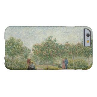 Jardín en Montmartre con los amantes de Van Gogh Funda De iPhone 6 Barely There