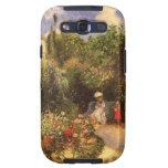 Jardín en Pontoise por Pissarro Galaxy SIII Fundas
