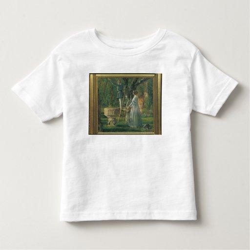 Jardín en Ringsted con un bautismal antiguo Tshirt