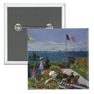 Jardín en Sainte-Adresse de Claude Monet