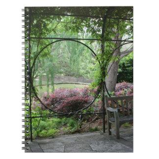 Jardín encantado libro de apuntes