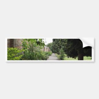 Jardín Etiqueta De Parachoque