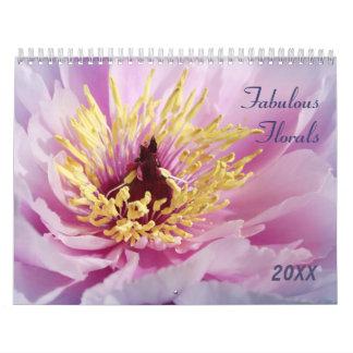 Jardín fabuloso 2016 floral calendarios