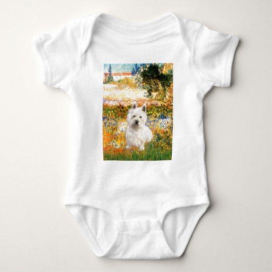 Jardín Fiorito - Westie 1 Body Para Bebé
