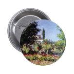 Jardín floreciente de Claude Monet Pin