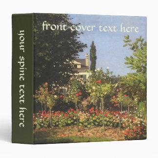 "Jardín floreciente en Sainte Adresse de Claude Carpeta 1 1/2"""