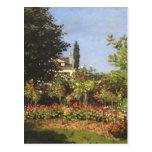 Jardín floreciente en Sainte-Adresse de Claude Mon Postal