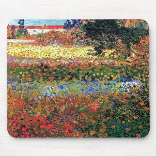 Jardín floreciente Mousepad de Van Gogh Alfombrilla De Ratones