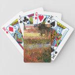 Jardín floreciente, Vincent van Gogh. Baraja Cartas De Poker