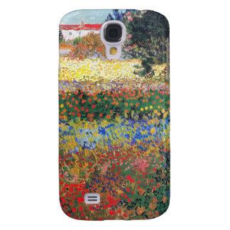 Jardín floreciente, Vincent van Gogh Funda Para Galaxy S4