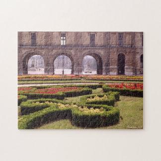 Jardín formal a lo largo de los campeones Elysee Puzzles Con Fotos