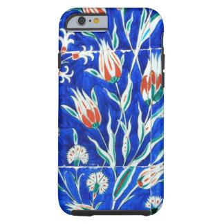 Jardín hermoso (tulipanes) funda para iPhone 6 tough