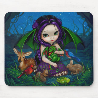 """Jardín III"" Mousepad de Dragonling Tapete De Raton"