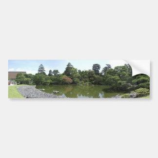 Jardín imperial del palacio pegatina para auto