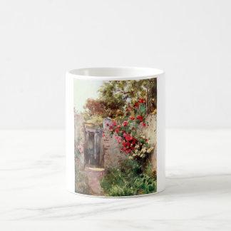 Jardín italiano tazas