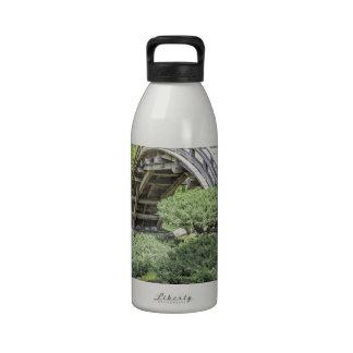 Jardín japonés 1 botellas de agua reutilizables