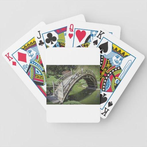 Jardín japonés 3 baraja de cartas