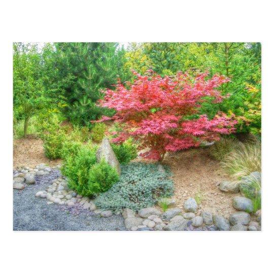Jardín japonés 3 de Momotaro Tarjetas Postales