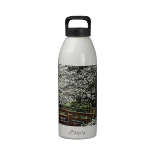 Jardín japonés 4 botella de agua