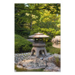 Jardín japonés arte con fotos