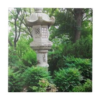 Jardín japonés azulejo cuadrado pequeño