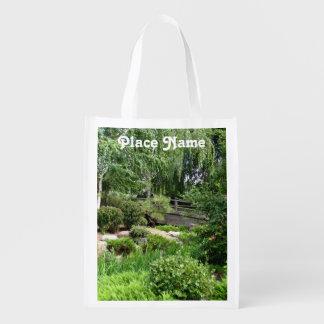 Jardín japonés bolsas para la compra
