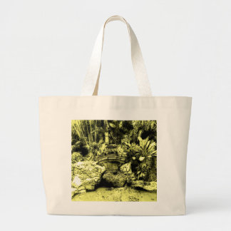 Jardín japonés bolsa tela grande