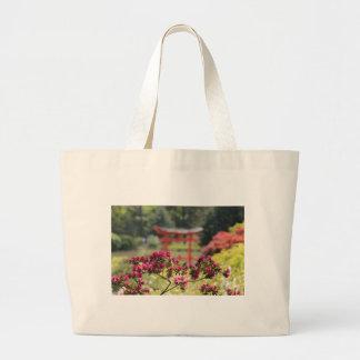 Jardín japonés bolsas de mano