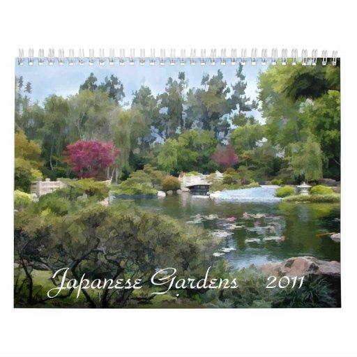 Jardín japonés calendario