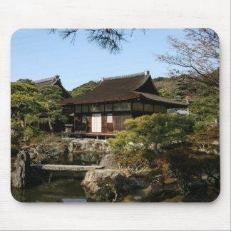 Jardín japonés en Kyoto - belleza y relajación Tapetes De Ratones