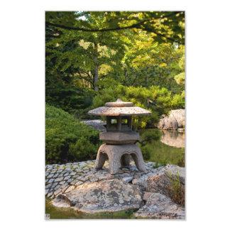 Jardín japonés fotografía