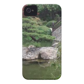 Jardín japonés iPhone 4 Case-Mate carcasas