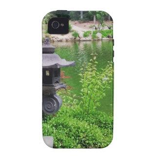 Jardín japonés iPhone 4 fundas