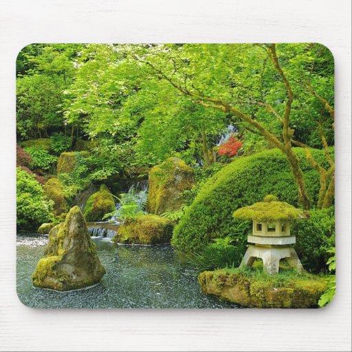 Jardín japonés Mousepad