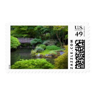 Jardín japonés, Portland, Oregon, los E.E.U.U. 2 Sello