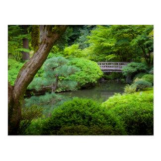 Jardín japonés, Portland, Oregon, los E.E.U.U. Tarjetas Postales
