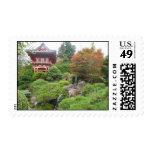 Jardín japonés sellos