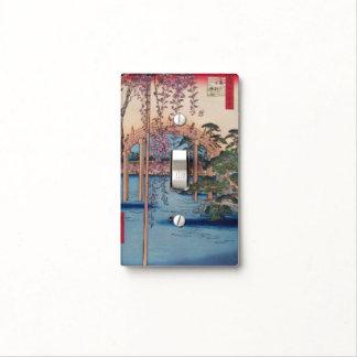 Jardín japonés cubiertas para interruptor