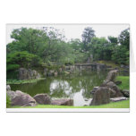 Jardín japonés tarjetas