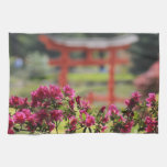 Jardín japonés toallas de mano